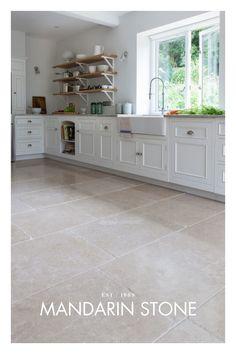 Stone Tile Flooring, Flagstone Flooring, Travertine Floors, Natural Stone Flooring, Living Room Flooring, Kitchen Flooring, Stone Kitchen Floor, Limestone Tile, Bathroom Floor Tiles