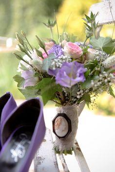 ©Pauline F Photography - mariage en violet - blog mariage La mariée aux pieds nus