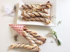 Schoko-Swirl-Stangen - Keksseligkeiten - Keksrezepte und Kekse verzieren