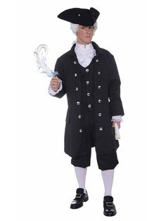 Vicars A, B and C - Founding Father Costume | Wholesale Historical Costumes for Men