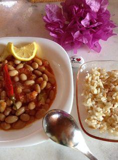 Speckled kidney beans....
