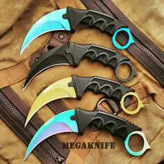 4PC CSGO KARAMBIT HAWKBILL CLAW LIMITED EDITION SET - MEGAKNIFE