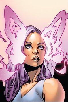 Psylocke from Uncanny X-Men Vol 5 - art by Mahmud Asrar Marvel Comics, Marvel Xmen, Jean Grey, Nocturne, Dnd Characters, Disney Characters, Fictional Characters, Corps Astral, Comic Art