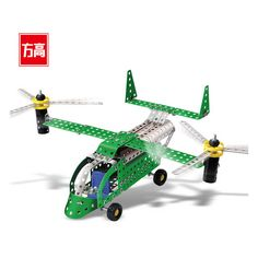 Us Army Metal Plane Construction Building Blocks Bricks Action Figures Military Diy Model Creative Cross Country Helicopter