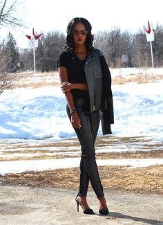 All black everything up on the blog #black #ootd #fashion #allblack #fashionblogger #motojackets