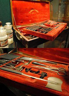American Civil War surgeon's kit