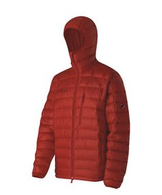 I have been pining for a red puffy jacket FOREVER. Patagonia doesn't have red right now...but I found this one from Mammut. It's a little bit more technical climbing/outdoor gear...but I think it may have to be mine. Love.