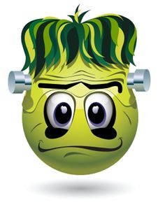Frankenstein Copy Send Share Send in a message, share on a timeline or copy and paste in your comments. Funny Emoji Faces, Silly Faces, Cute Emoji, Symbols Emoticons, Emoji Symbols, Smiley Symbols, Smileys, Emoji Pictures, Emoji Images
