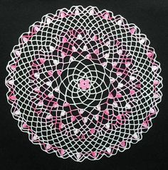 Pink Berries Doily | Flickr – Compartilhamento de fotos!