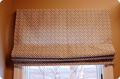how to roman shades