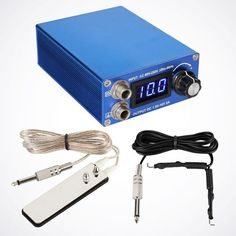 Blue Premium LCD Digital Power Supply – Dragon Tattoo Supply 1(888) 505 1833