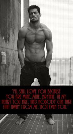 David Gandy - Ethan Blackstone - Naked by Raine Miller. uuuum @S Vu I'll fuckin' have him as Blackstone too. DAYUM !