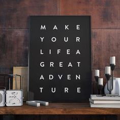 Poster - Great adventure - Decohouse