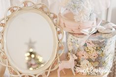 Beautiful shabby chic vintage items from Carousel Antiques - Sweet Emelyne's