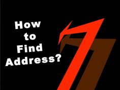 How to find address? by IdentityPi via slideshare