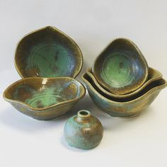 My friend Jim threw and altered some beautiful nesting bowls by beckybrunton1