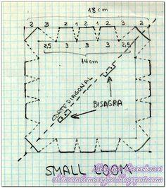 Para este telar vamos a necesitar:  -Madera cuadrada de 18x18 cm de lado y 2 o 3 mm de grosor  -Regla  -Lápiz  -Sierra de calar o segueta  -...