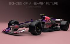"""Welcome to the age of """"why don't we have jet cars yet?"""" What will our Formula One cars look like in the near future? Fan and designer Andries van Overbeeke put together this stunning concept of what he envisions as a 2017 Red Bull car. G Wagon, Rolls Royce, Maserati, Cadillac, Sport Cars, Race Cars, Jaguar, Mustang, Benz"""