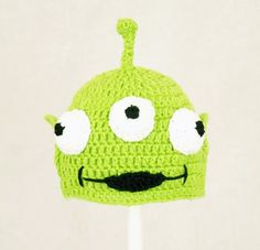 Toy Story Alien Green Hat Disney Pixar Send Size Baby - Adult