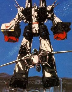 Robotech: Macross. Amazing storyline  and the best Mechs ever. Kids these days are definitely missing out on the great anime of my youth.