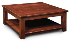 Santiago Square Coffee Table from Simply Amish furniture