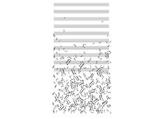 """""""Falling Notes"""" - Threadless.com - Best t-shirts in the world"""
