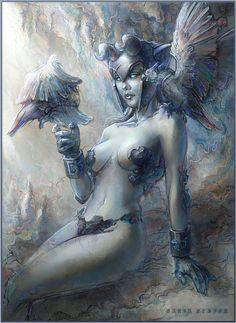 DotA 2, Female-Visage by DariaDesign on DeviantArt