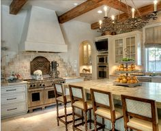like the kitchen...the bar stools not so much..