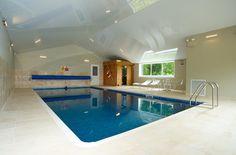 Swimming Pool inside Crepe Farmhouse.