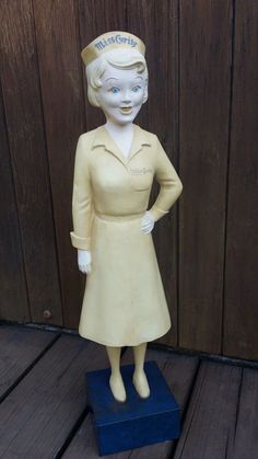 Miss Curity Advertising Store Display Nurse Mannequin Doll