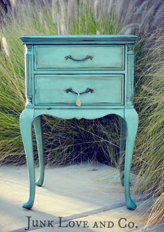 Vintage Side Table with beautiful lines