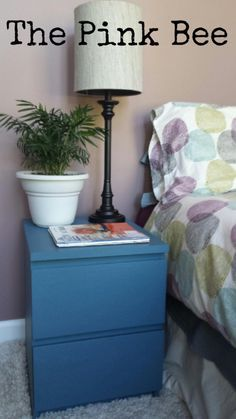 How to paint slick IKEA furniture so it sticks and is durable!