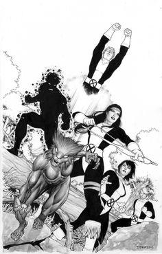 The New Mutants by Ibraim Roberson
