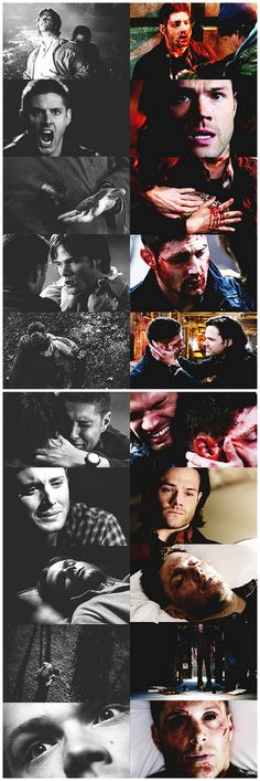 2x21 & 2x22 All Hell Breaks Loose (Part 1 & 2 ) vs. 9x23 Do You Believe In Miracles #SPN #Dean #Sam