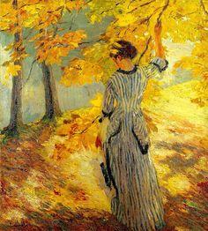 Autumn Sun Edward Alfred Cucuel