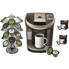 Keurig�Black Programmable Single-Serve Coffee Maker
