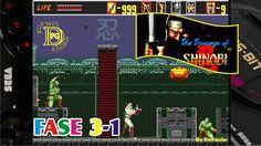 The Revenge of Shinobi (Mega Drive) Gameplay Fase 3-1