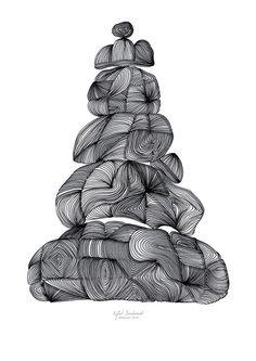 Balanse, zentangle, stavern, drawing, tegning, illlustrasjon, illustration