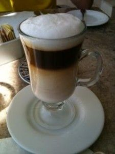 Layering the Cappuccino is so much fun!