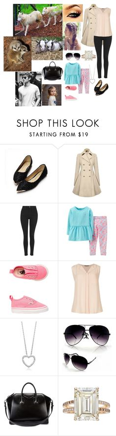 """""""Day 2 In Scotland: Visiting The Five Sisters Zoo"""" by dawn-wales ❤ liked on Polyvore featuring Topshop, Carter's, Vans, M&S, Givenchy and Betteridge"""
