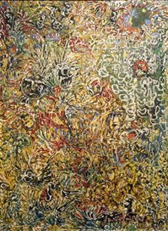 Precursor to Pollock.. Janet Sobel's Burning Bush (Gary Snyder Fine Art, c. 1943)