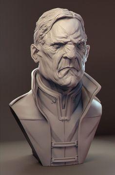 Digital Sculpt by James W Cain, Digital Sculptor, James W Cain, creature, Digital Character Art, 3d model, Character Art, Digital Sculpt, Digital Sculptor by James W Cain