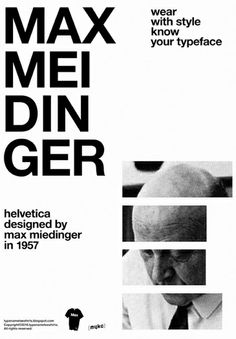 max miedinger #helvetica