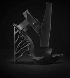 Juxtapose - A new 3D printed Shoe by Marieka Ratsma