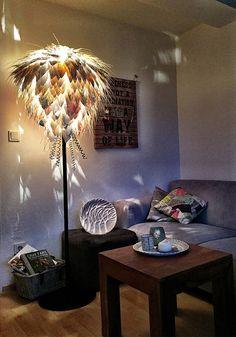White Lightening  Stehlampe von SontuliArt auf Etsy Floor Lamp, Designer, Etsy, Flooring, Home Decor, Handmade, Hardwood Floor, Interior Design, Home Interior Design