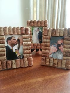 wine cork picture frames