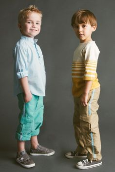 Coastal Cargos PDF Sewing Pattern by Blank Slate Patterns. There are patterns for BOTH of those shirts too.