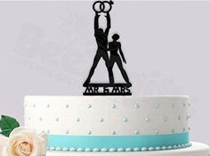 Wedding Cake Toppers, Wedding Cakes, Decorating Tools, Hotel Deals, Mr Mrs, Reception Decorations, Safe Food, Cool Designs, Wedding Inspiration