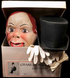 Charlie Mccarthy, Adult Costumes, Alien Costumes, Punch And Judy, Lp Cover, Another World, Popular Culture, Craft Work, Comic Character