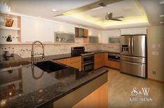 SandW Kitchens :: Jalladi Kitchen by Designer Mary Burkhammer